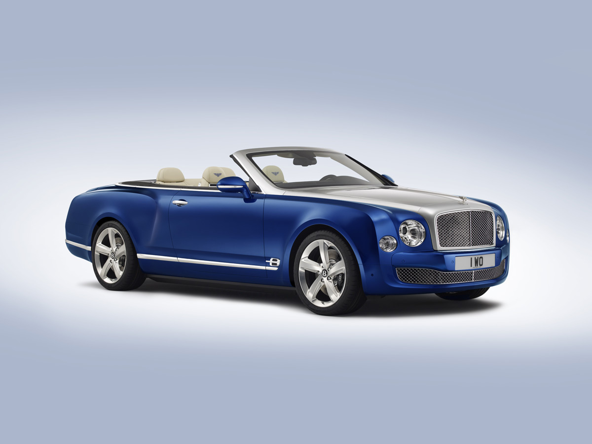 Bentley Grand Convertible - The Most Sophisticated Open-top Car