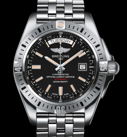 Breitling Galactic 44 replica watch
