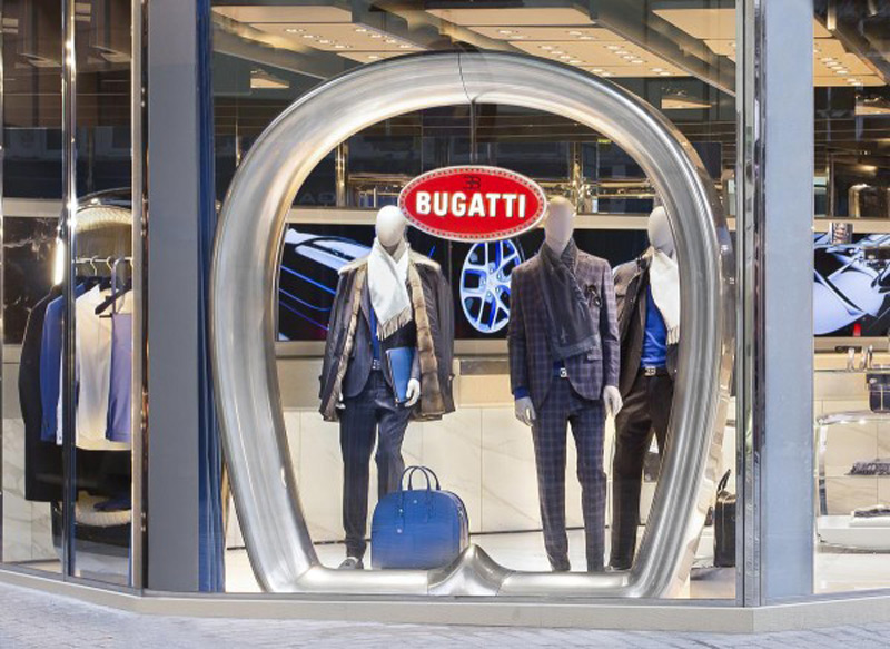 Bugatti Opened First Lifestyle Boutique Store in London