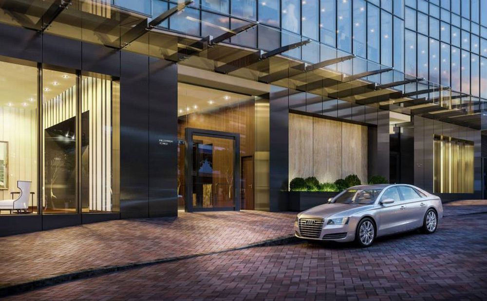 37 5 million condo in boston 39 s new millennium tower extravaganzi - Garage millenium ville la grand ...