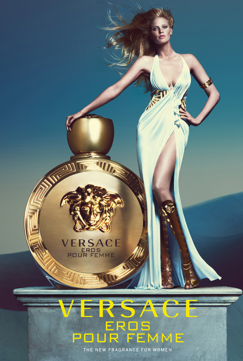 Versace's New Eros Pour Femme Fragrance