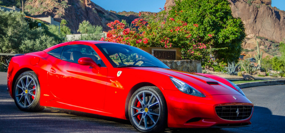 Ferrari Experience at Scottsdale's Sanctuary on Camelback Mountain Resort