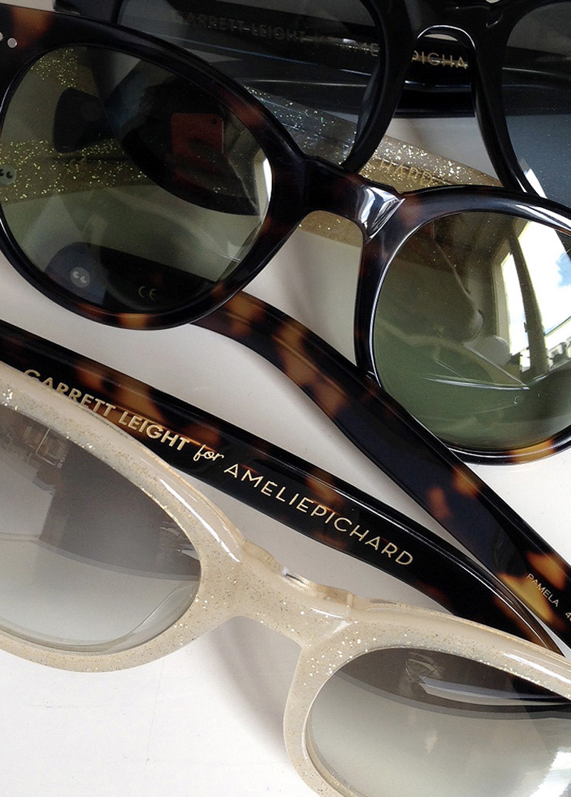 Garrett Leight For Amélie Pichard - Limited Edition Sunglasses
