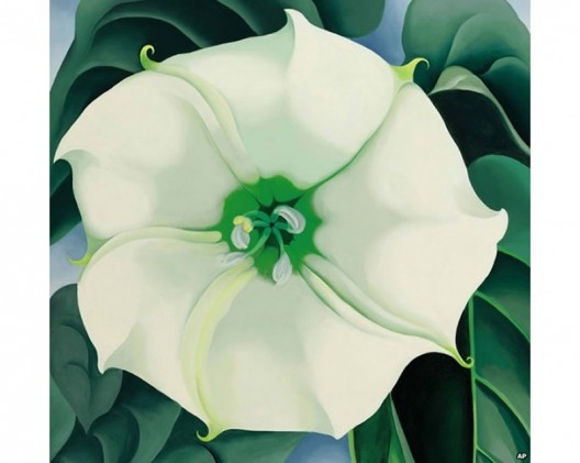 $44,4 Million Georgia O'Keeffe's Painting Resets Auction Record for Female Artist