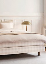 Hästens Launches Limited Edition Stockholm White Bed