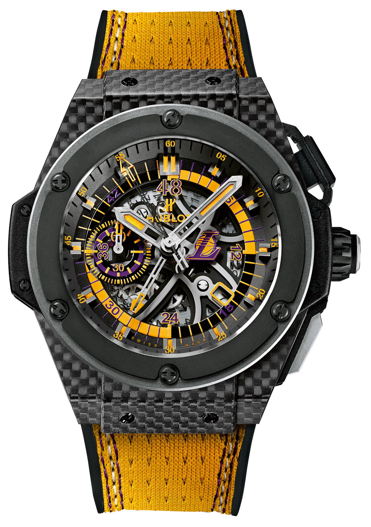 Hublot King Power Los Angeles Lakers replica