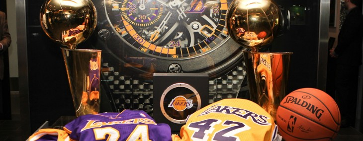 Hublot Unveils King Power Los Angeles Lakers Wristwatch