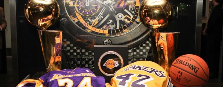 Hublot Unveils King Power Los Angeles Lakers Wristwatch