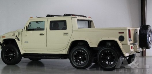 Hummer H2 SUT With Six Wheels On Sale