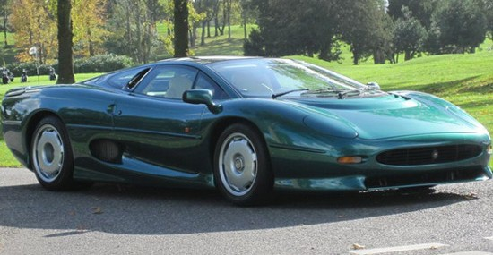 Jaguar XJ220 Owned By The Sultan of Brunei On Sale