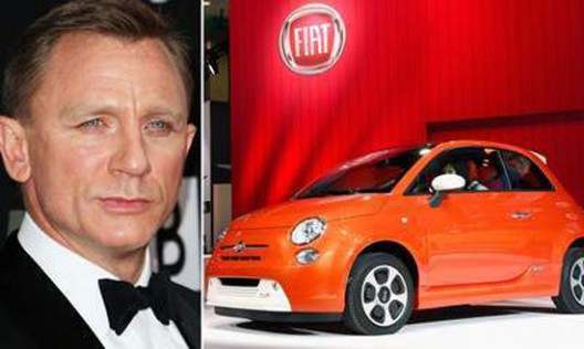 The spy, who was driving his beloved Aston Martin for decades, in the latest movie will sit behind the wheel of Fiat 500