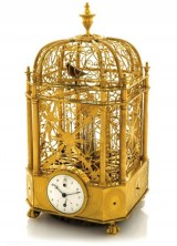 Jaquet Droz Singing Bird Cage Clock Sold for $305,000