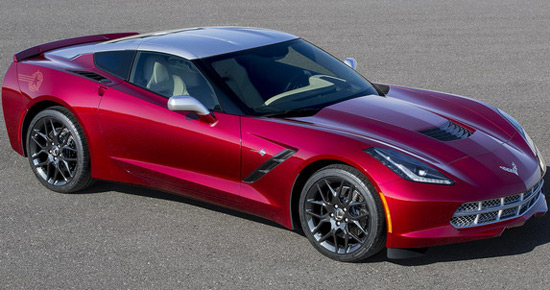 Chevrolet Corvette Stingray By KISS
