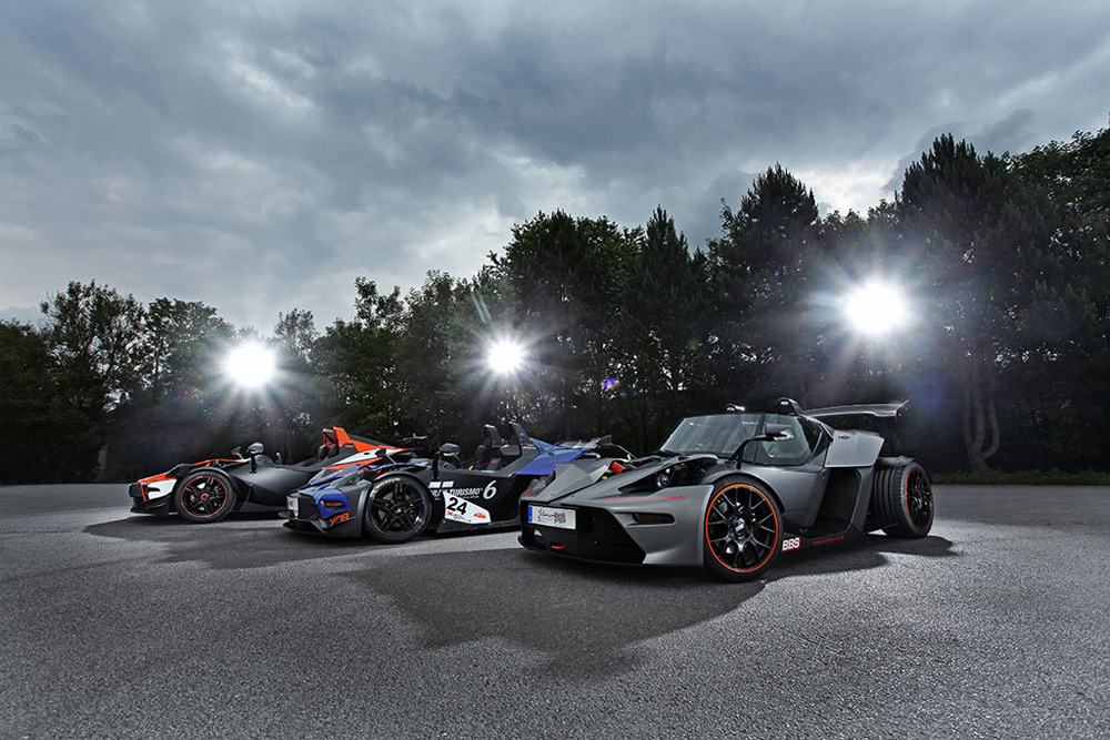 Wimmer Unveiled 1300hp KTM X-Bow Racecar Trio