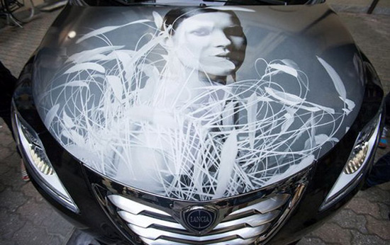 Lancia Ypsilon Dedicated To Kate Moss