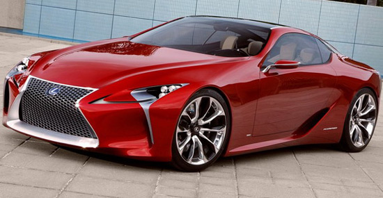Serial Lexus LF-LC Is Coming