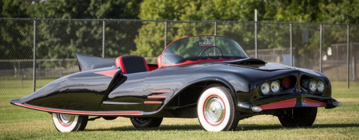 First Officially Licensed Batmobile Goes Under the Hammer
