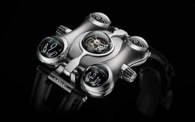 The Space on Your Wrist - MB&F HM6 Space Pirate