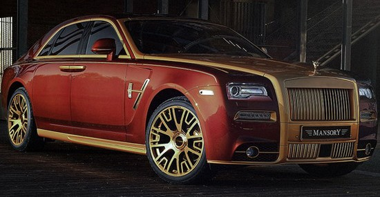 Mansory has promoted a new tuning program designed specially for Rolls-Royce Phantom Series II