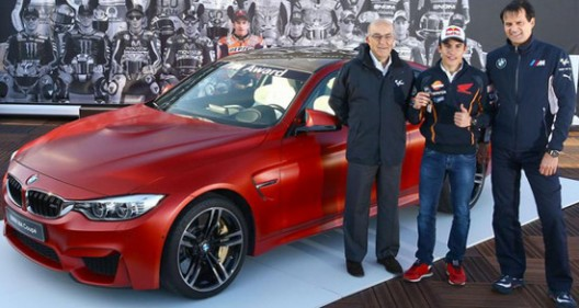 BMW Honors Marc Marquez with M4 Coupe