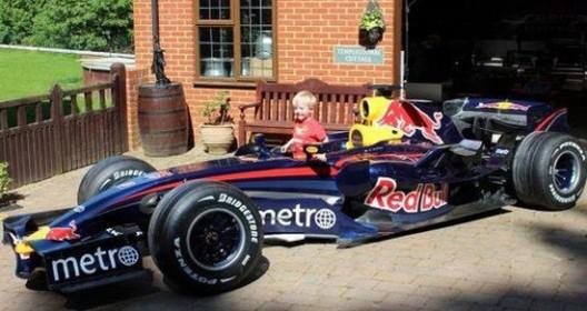 Mark Webber's Red Bull RBR3 F1 Car On Sale