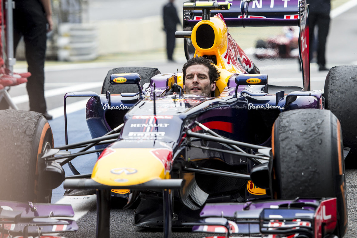 Mark Webber's Red Bull RBR3 F1 Car On Sale
