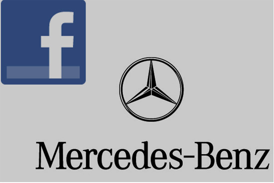 Mercedes' Facebook Page Worth €7 Million