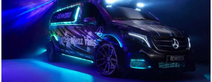 Mercedes Benz Van Wrapped by MetroWrapz and RENNtech