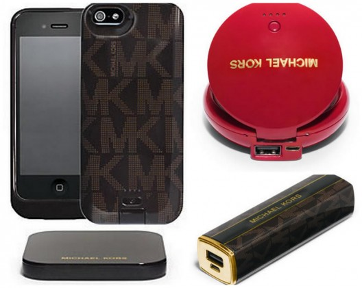 High-tech Accessories by Michael Kors and Duracell