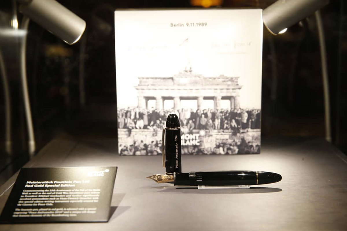 Montblanc Celebrates the 25th Anniversary of the Fall of the Berlin Wall