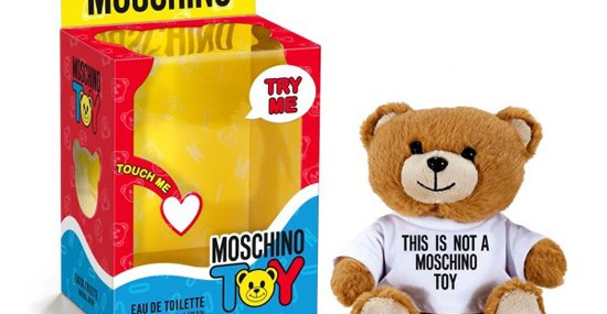 Moschino Toy - New Teddy-bear Shaped Unisex Fragrance