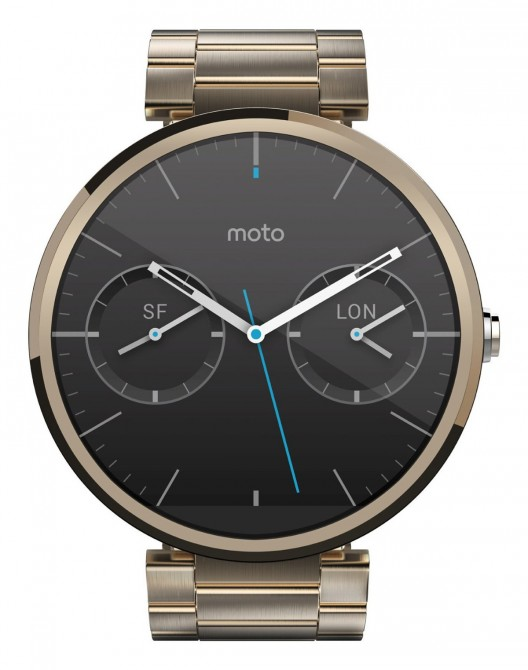 Moto 360 Will Come in Champagne Gold