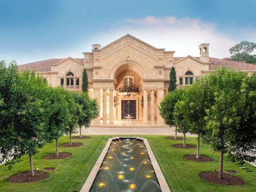 Houston's Neoclassical Chateau on Sale for $43 Million
