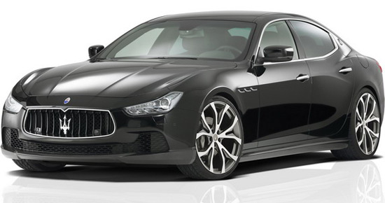 German tuner, Novitec, after Quattroporte, has prepared all new kit for other Maserati sedans, Ghibli