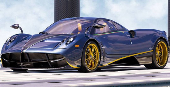 Pagani has made another unique piece of the Huayra, and that's 730 S Edition