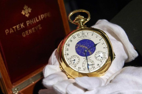 Patek Philippe Gold Pocket Watch from 1930's Sold for a Record $21.3 Million