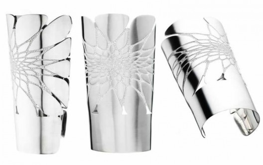 The Petal Cuff by Zaha Hadid And Aziz & Walid Mouzannar