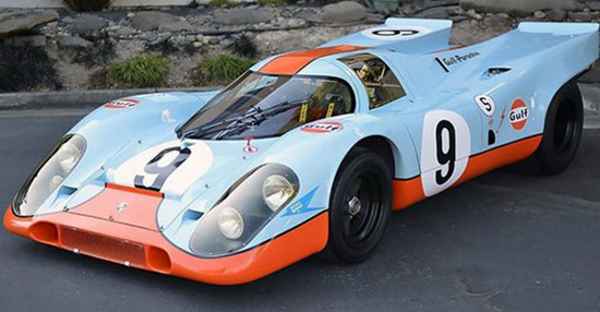 Jewel On Sale: 1969 Porsche 917K In The Gulf Racing Colors