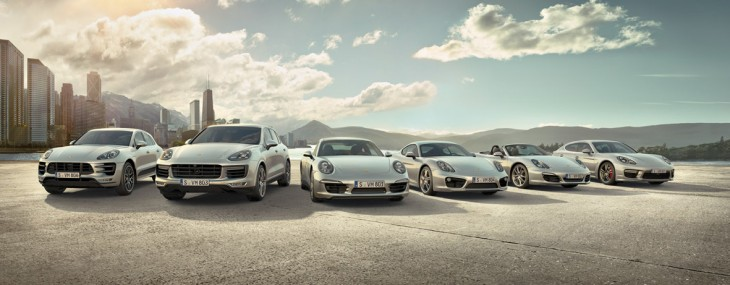 Porsche  introduces a new service - Porsche Drive