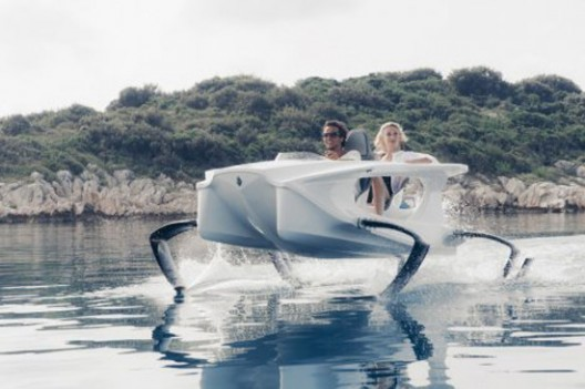 "The Future of Speedboat: Electric Catamaran from Slovenia who ""Flies"" Above the Water"