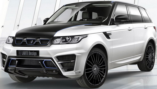 Larte Design will present, among other, a modified Range Rover Sport