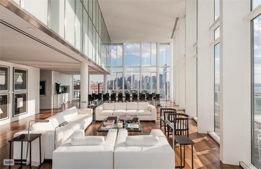 Trophy Richard Meier Penthouse at 165 Charles Street On Sale for $40 Million