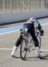 Rocketman – With Bicycle to a Speed of 333km / h And World Record