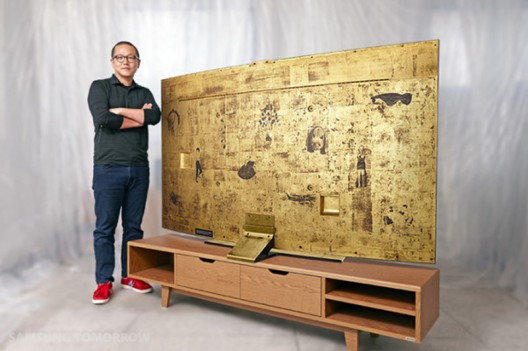Samsung to auction gold UHDTV for charity