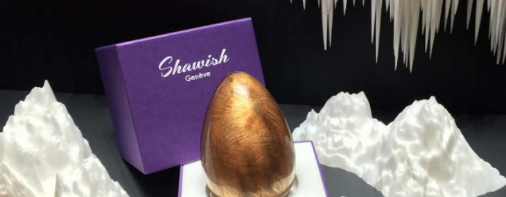 Shawish Christmas Gift - Jewel Inside Chocolate Egg