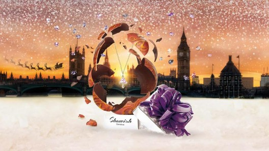 Shawish Christmas Gift - Jewel Inside Chocolate Egg