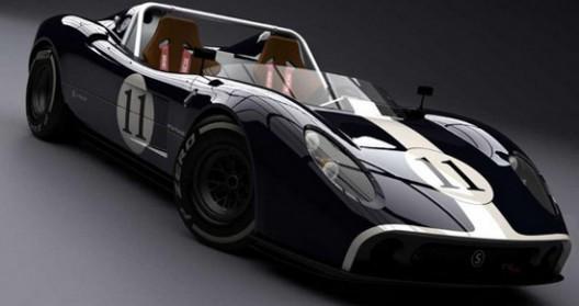 New Dutch Silvermine 11SR Track Car