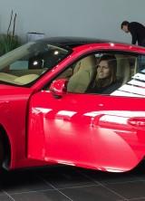 Simona Halep Got A Red Porsche 911