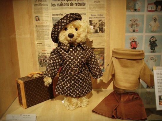 Image result for steiff louis vuitton teddy bear