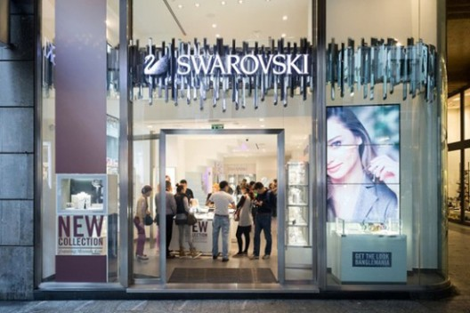 Swarovski's New Milan Flagship Opened Its Doors